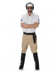 Motoragent kostuum voor mannen