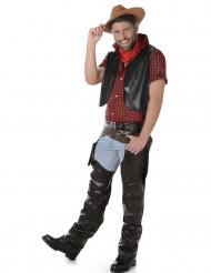 Amerikaanse cowboy kostuum voor mannen