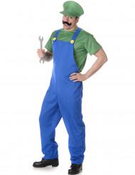 Groen loodgieter kostuum voor mannen