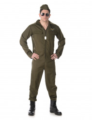 Vliegpiloot outfit voor mannen