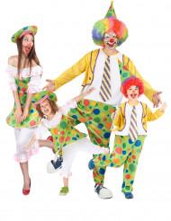 Clown familie kostuum