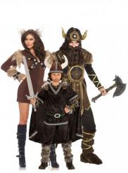 Viking familie kostuums