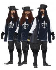 De drie musketiers groepskostuums