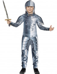 Ridder in harnas kostuum voor jongens