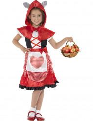 Rood sprookjes kostuum voor meisjes