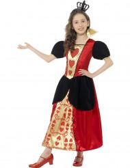 Stijlvol Hartenkoningin kostuum voor meisjes