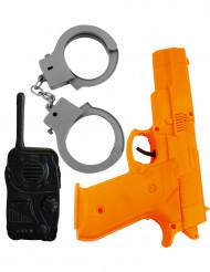 Plastic politieset voor kinderen
