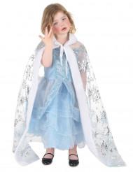 Ijsprinses cape voor meiden