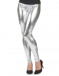 Zilverkleurige legging voor vrouwen