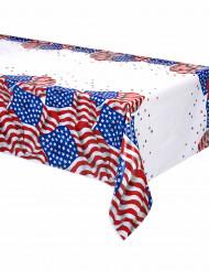Amerikaanse vlaggen USA tafelkleed