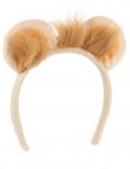 Leeuwen haarband voor volwassenen