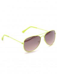 Lichtgroene pilotenbril