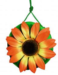 Hippie handtas met bloem