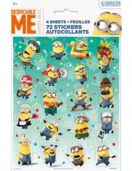 72 Despicale Me stickers