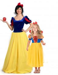 Sprookjes prinses koppelkostuum moeder en dochter