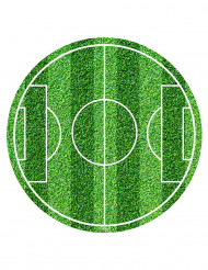 Suikerdecoratie voetbalterrein