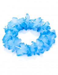 Blauwe Hawaii armband voor volwassenen