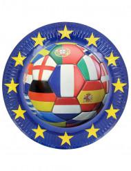 Euro EK voetbal bordjes