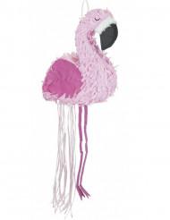 Lichtroze en donkerroze flamingo pinata