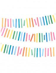 Kleurrijke slinger 3m