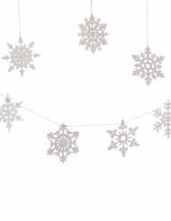 8 sneeuwvlok versieringen
