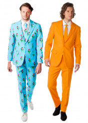 Opposuits™ duo kostuum Mr. Orange & Tulip