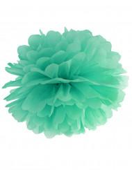 Mintgroene papieren pompon