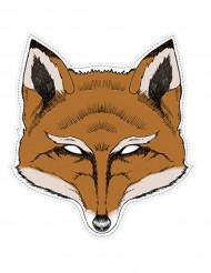 Papieren vossenmasker