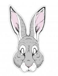 Papieren konijnenmasker