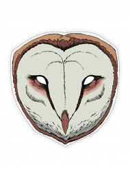 Papieren uilenmasker