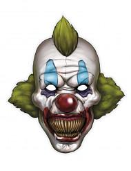 Papieren clown Halloween masker
