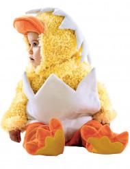 Kuiken in schaal kostuum voor baby's