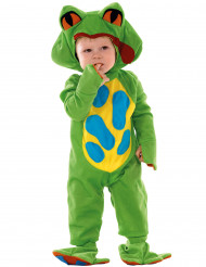 Groen kikkerkostuum voor baby's