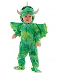Groen dinosauruskostuum voor baby