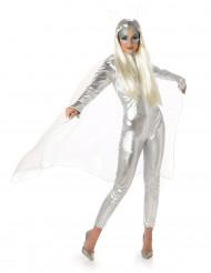 Grijs Alien kostuum voor vrouwen