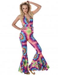 Psychedelisch hippie kostuum voor vrouwen