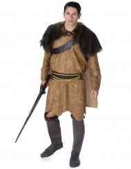 Bruine viking strijder outfit voor mannen