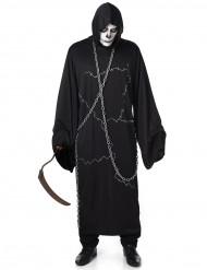 Grim reaper met ketting kostuum voor mannen