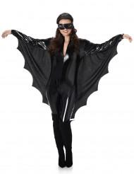 Sexy zwart vleermuis kostuum voor dames