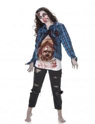 Zombie outfit met baby voor vrouwen