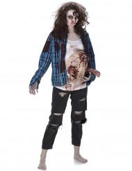 Zombie met foetus kostuum voor vrouwen