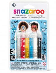 6 Snazaroo™ schmink stokjes voor jongens