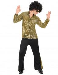 Gouden disco kostuum voor mannen