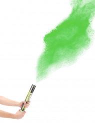 Groene poeder confetti kanon!