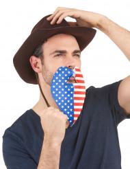 Amerikaanse supporter baard voor volwassenen