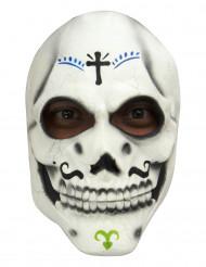 Día de los Muertos skeletmasker voor volwassenen