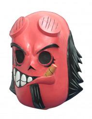 Calaveritas™ Día de los Muertos rood duivelsmasker voor volwassenen