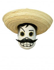 Calaveritas™ Día de los Muertos masker voor volwassenen