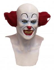 Duivels clownsmasker voor volwassenen