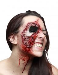 Afgescheurd gezicht nepwond voor volwassenen